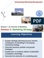 (2) Marketing; Module 1; Session 2; Marketing Strategy