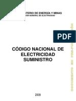 Código Nacional de Electricidad Suministro - Perú (Prepublicación 2009)