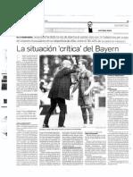 La situación crítica del Bayern