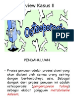 Review Kasus II Osteoporosis