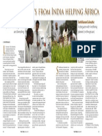 Rice Today vol. 14, no. 2 Rice scientists from India helping Africa