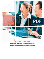 Analisis Caracteristicas Anatomosensoriales Auditivas