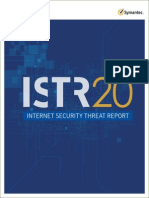 Symantec Internet Security Threat Report Volume 20 2015 Social v2