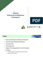 Adeptia Enterprise Architecture Framework