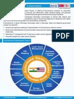 e-Governance Services Provider India   e-Governance Services in India