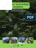 Shouf Biosphere Reserve_Field Guide and Information Booklet