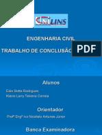 Apresentação  - TCC - 2010 Saneamento