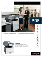 Lexmark X925de - Colour A3 Copier