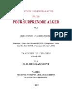 Preparatifs Surprendre Alger