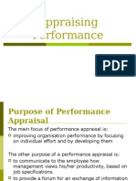 Appraising Performance 2