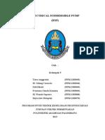 Makalah ESP Prak. Artificial Lift TEPM IV-B 2015