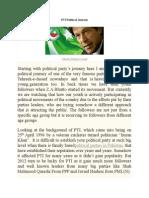 PTI Politcal Journey