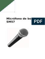 Micrófono de Bobina SM57