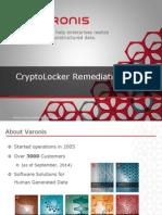 CryptoLocker Remediation