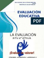 Tipos de Evaluación Del Aprendizaje 2015