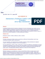 Alcmeón - - Alucinaciones y F
