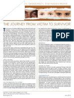 From Victim to Survivor- THB