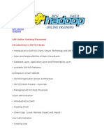 SAP Online Training Docs