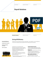 Industry Solution in Detail Human Resources SAP Core HR and Payroll Solutions (1)