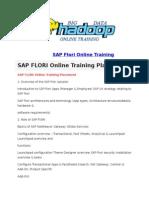 SAP Flori Online Training