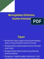 22. (4)Meningkatkan Efektivitas Asuhan Antenatal.ppt