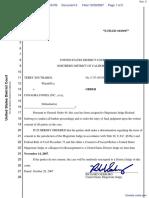 Southards v. Conagra Foods Inc. - Document No. 5