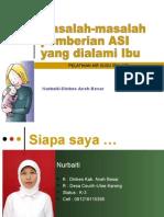 19. Masalah Menyusui Ibu