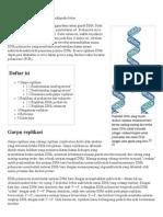 Replikasi DNA - Wikipedia Bahasa Indonesia, Ensiklopedia Bebas