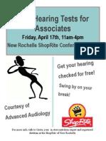Associate Event April 17