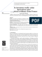 Khediri_Do investors really value derivatives use? Empirical evidence from France.pdf