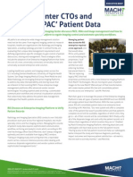 Imaging Center CTOs and IT Pros UnPAC Patient Data