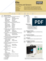 Calibration Kits for Calibrating Instruments and Sensors Bulletin - En