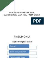 Diagnosis Pneumonia, Candidiasis Dan Tbc Pada Odha