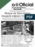 Diário oficial perncambuco