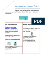 Reception Class Newsletter Summer 1 2015