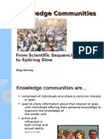 Knowledge Communities for Scribd