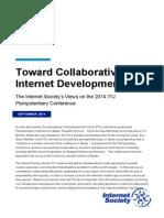 Toward Collaborative Internet Development