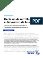 Hacia un desarrollo colaborativo de Internet