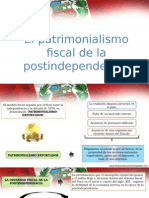 patrimonialismo fiscal durante la post - independencia