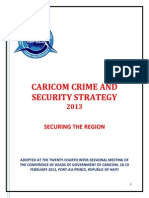 Caricom Crime and Security Strategy