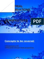 Industrial Relations Perspectives