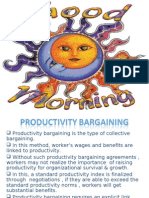Productivity Bargaining 1