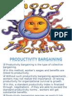 Productivity Bargaining 1