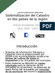 Experiencias Sistematización Catastro AE2015