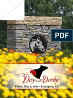 Sale Catalog - Day at the Derby Sale