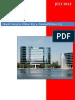 Oracle Enterprise Edition 11g Vs Standard Edition 11g