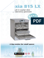 Lancer Glass Washer 815LX