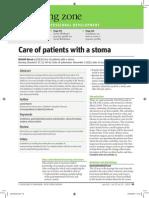 stoma care (peer)