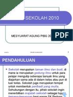 MAJALAH SEKOLAH 2010-Slide Prsentation