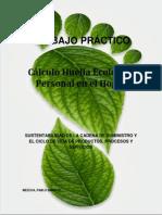 Trabajo Práctico Sustentabilidad-huella Ecologica